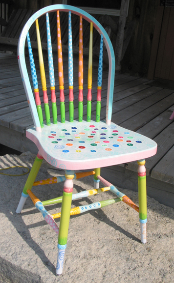 painted chairs jude waples one of a kind doll houses